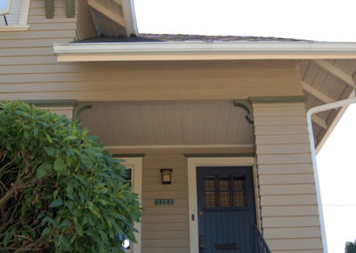Exterior paint and trim